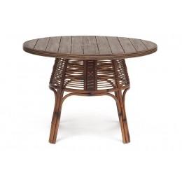 КИТО, обеденный стол из натурального ротанга