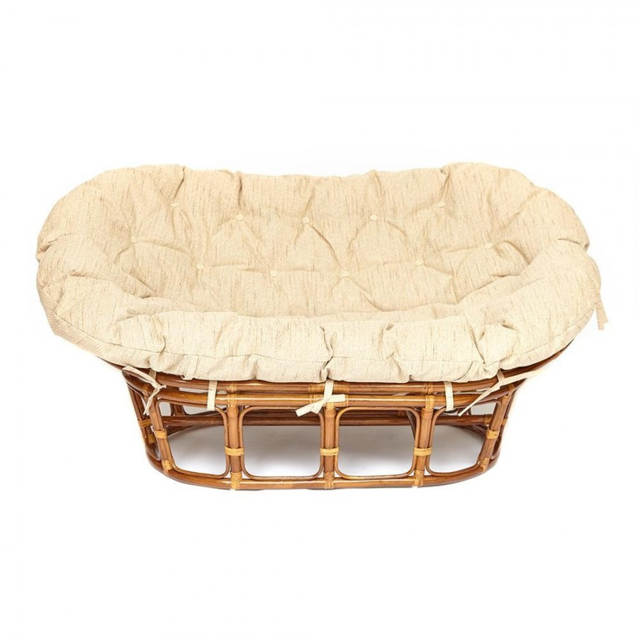 САН-ЛУИС, большое ротанговое кресло для террасы