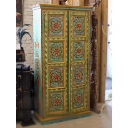 Шкаф с индийской росписью, 180см