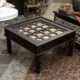 Деревянный чайный стол Phoolon