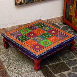 Деревянный кофейный столик серии Ranga, квадратный