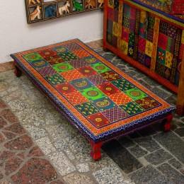 Деревянный кофейный столик серии Ranga, прямоугольный