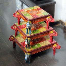 Оригинальный столик-подставка серии Ranga, три размера