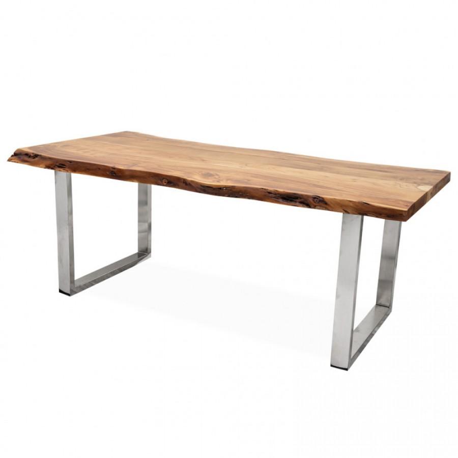 Большой рабочий стол в лофт стиле НОРБУ, 2м