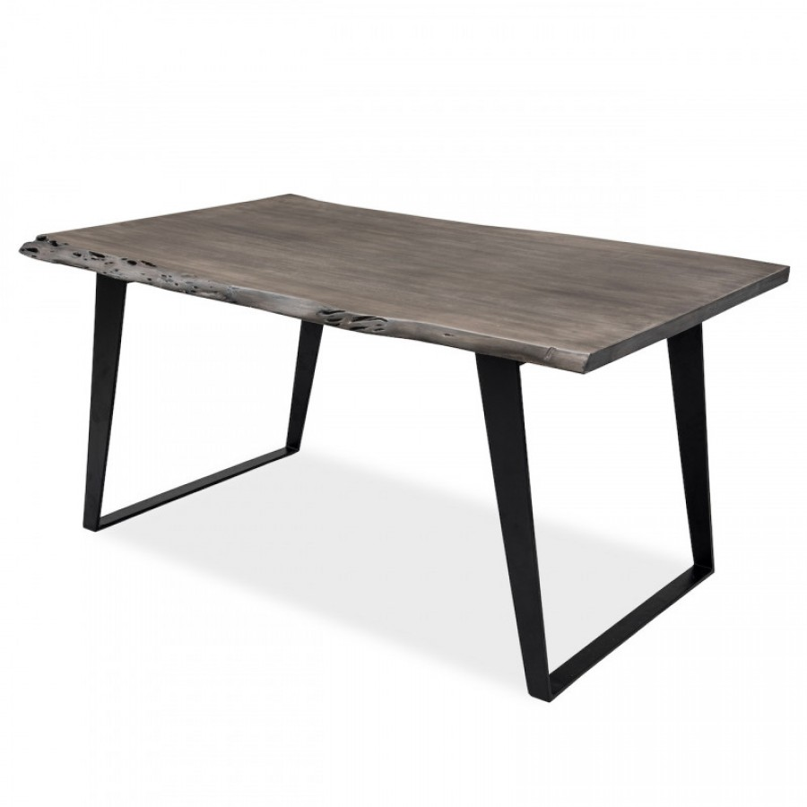 МИМАР, обеденный стол в лофт стиле из массива, 1,5м