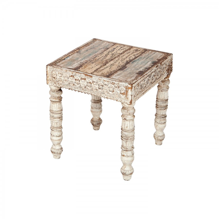 Белый кофейный столик Provens, 37 см