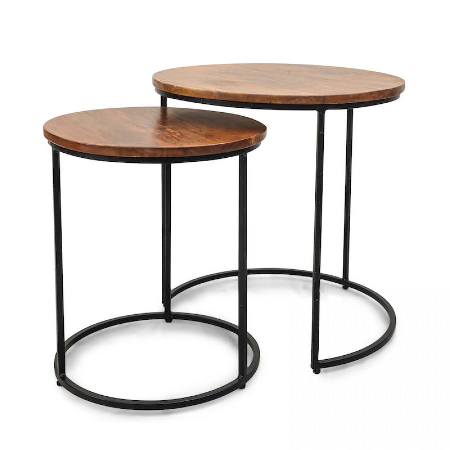 ДЖАММА, набор из столиков, лофт