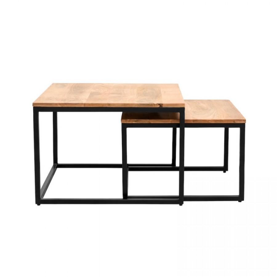 НИМА - комплект журнальных столиков, лофт