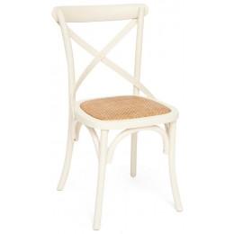 Белый деревянный обеденный стул ВОЛЬТЕРРА