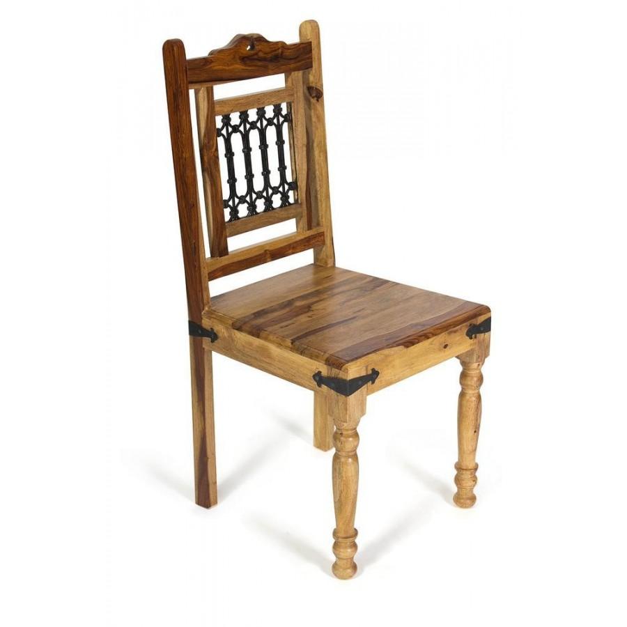 Деревянный обеденный стул из палисандра БИРМА