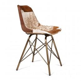 Кожаный стул в кантри стиле MARARRI