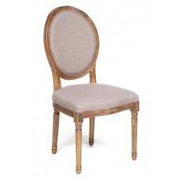 Красивый классический стул с мягким сиденьем и спинкой КЬЮЗИ