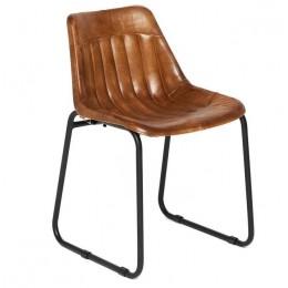Современный кожаный стул MORBI 2