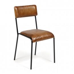 Стильный кожаный стул Liam