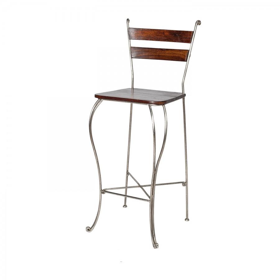Дизайнерский барный стул из металла Jaalee