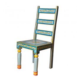 Красивый расписной стул в восточном стиле Vichitr