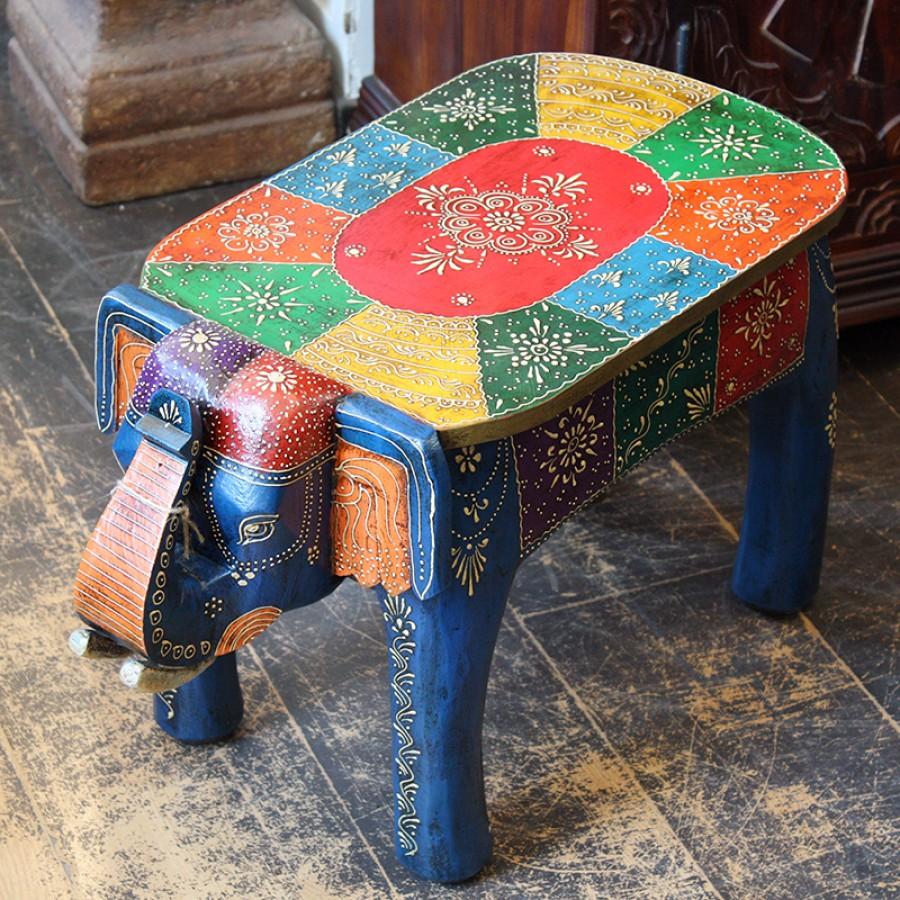 Столик-табурет в виде слона