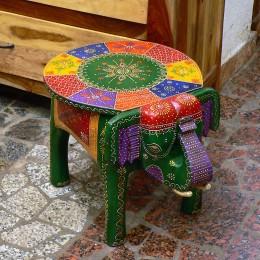 Столик-табурет в бохо стиле Elephant