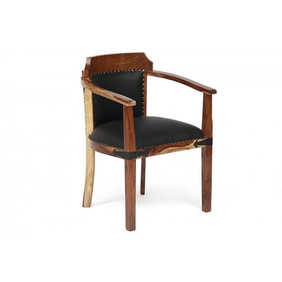 Деревянный стул-кресло с подлокотниками БИРМА