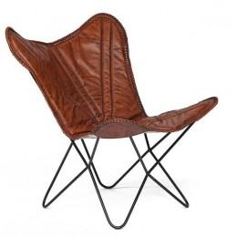 Дизайнерское кожаное кресло КЕЙПТАУН