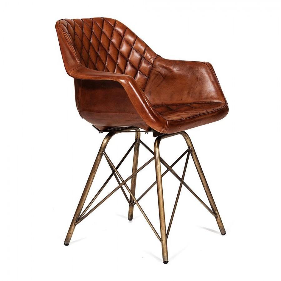 Кожаное кресло-стул William