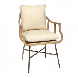 Мягкий стул с подлокотниками Бергамо