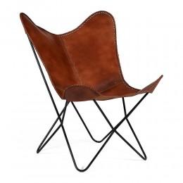 Современное кресло из кожи ДЕ-АР