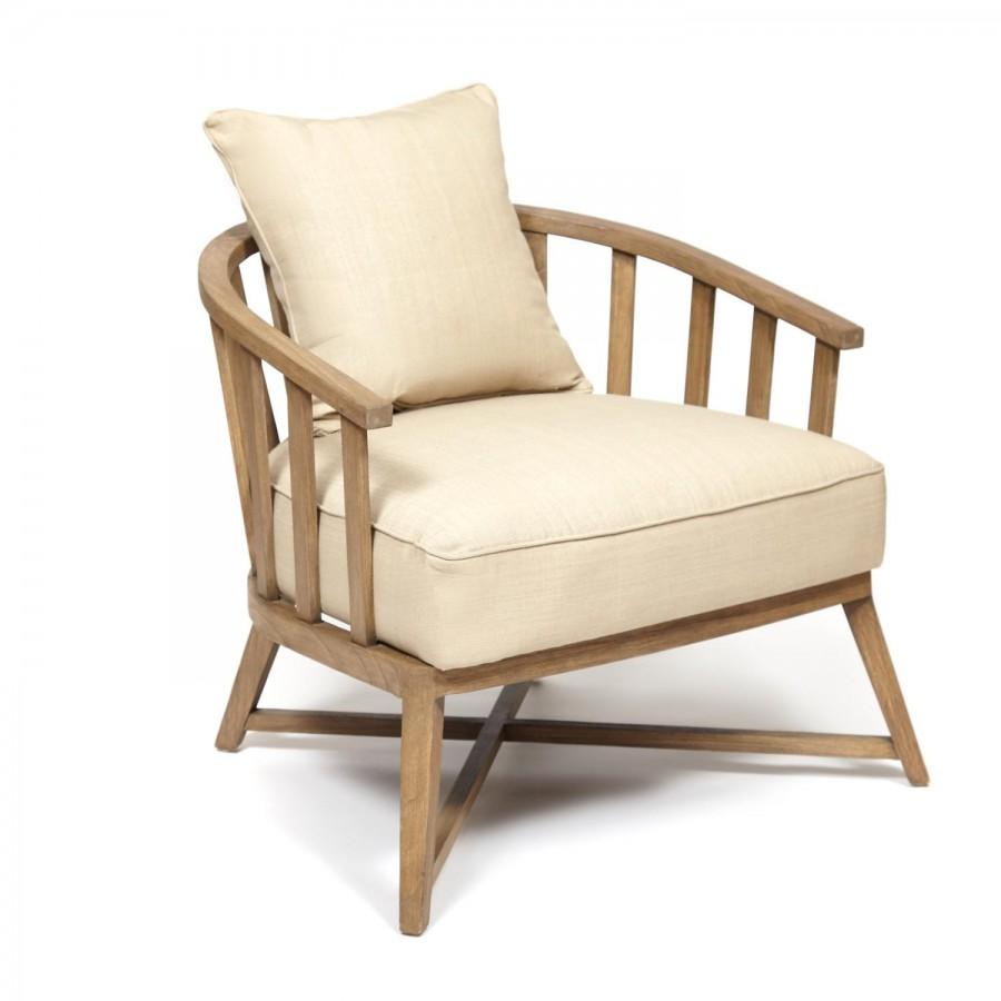 Стильное деревянное кресло ГЕНУЯ