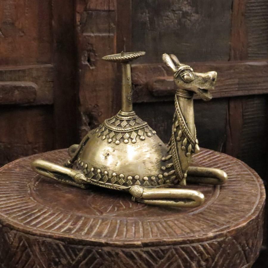 Индийский подсвечник. Верблюд, 13 см