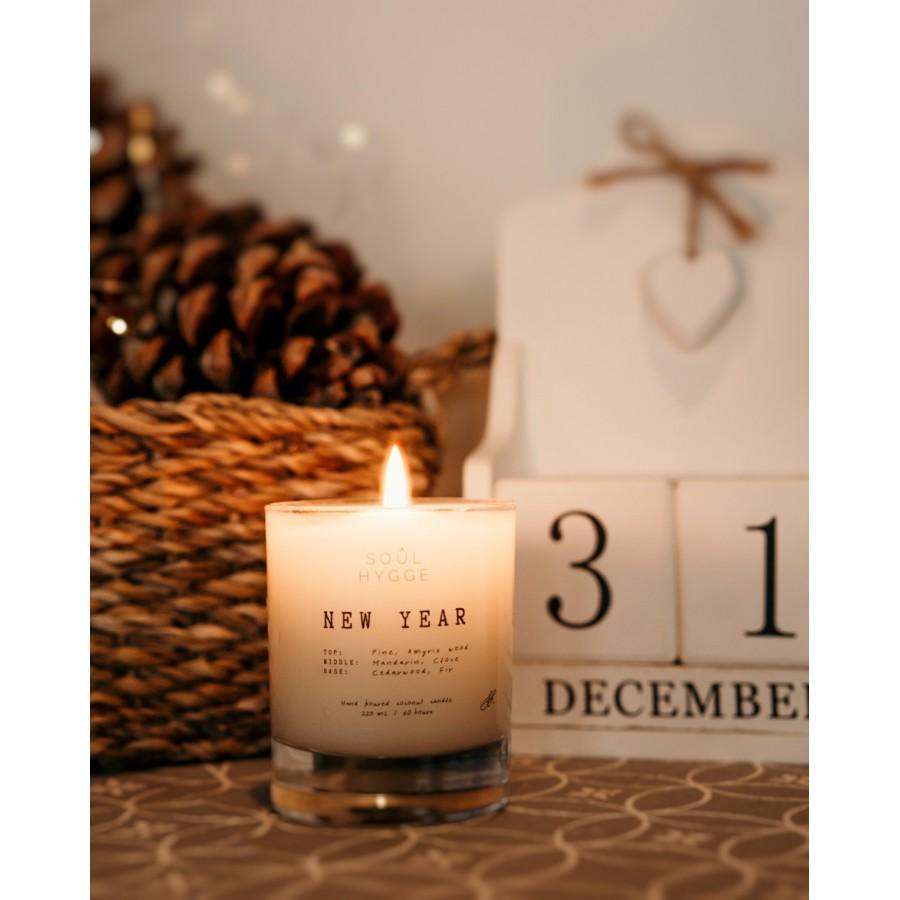 NEW YEAR, ароматическая свеча для дома