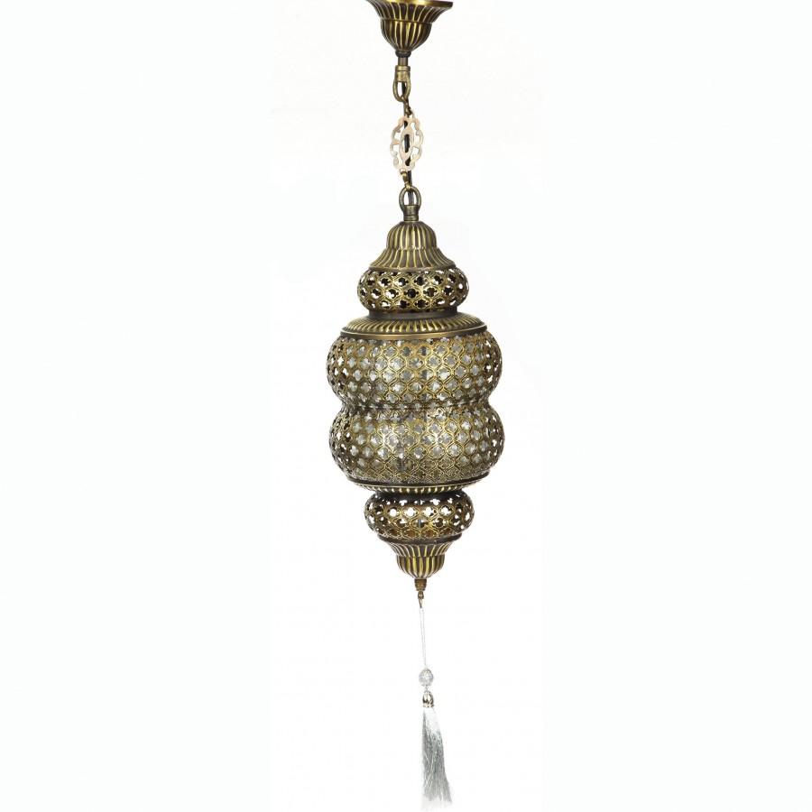 Латунная люстра в восточном стиле Cennet