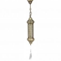 Восточный подвесной светильник из латуни Gece