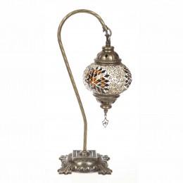 Настольный мозаичный светильник, коричневый