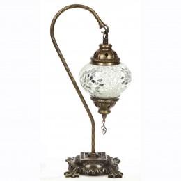 Настольный светильник в восточном стиле, белый