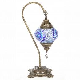 Восточная лампа, голубая