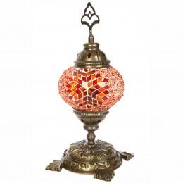 Светильник из стеклянной мозаики