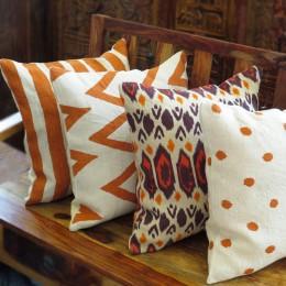 Льняные наволочки на декоративную подушку