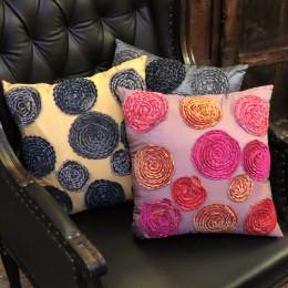 Наволочка на декоративную подушку Peony