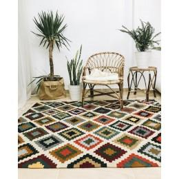 Безворсовый египетский ковер килим