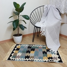 Хлопковый двусторонний коврик. Турция