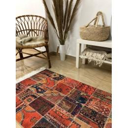 Коврик-килим в стиле Пэчворк