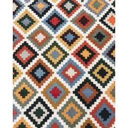 Натуральный килим из шерсти