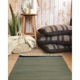 Натуральный коврик-килим из шерсти