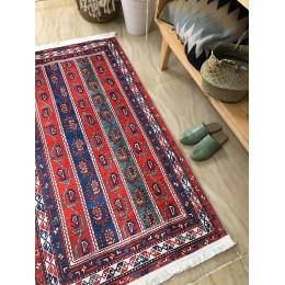 Натуральный коврик в этно стиле