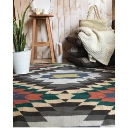 Шерстяной восточный килим