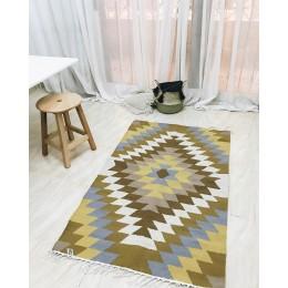 Восточный двусторонний ковер килим