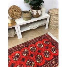 Восточный коврик из хлопка и бамбука