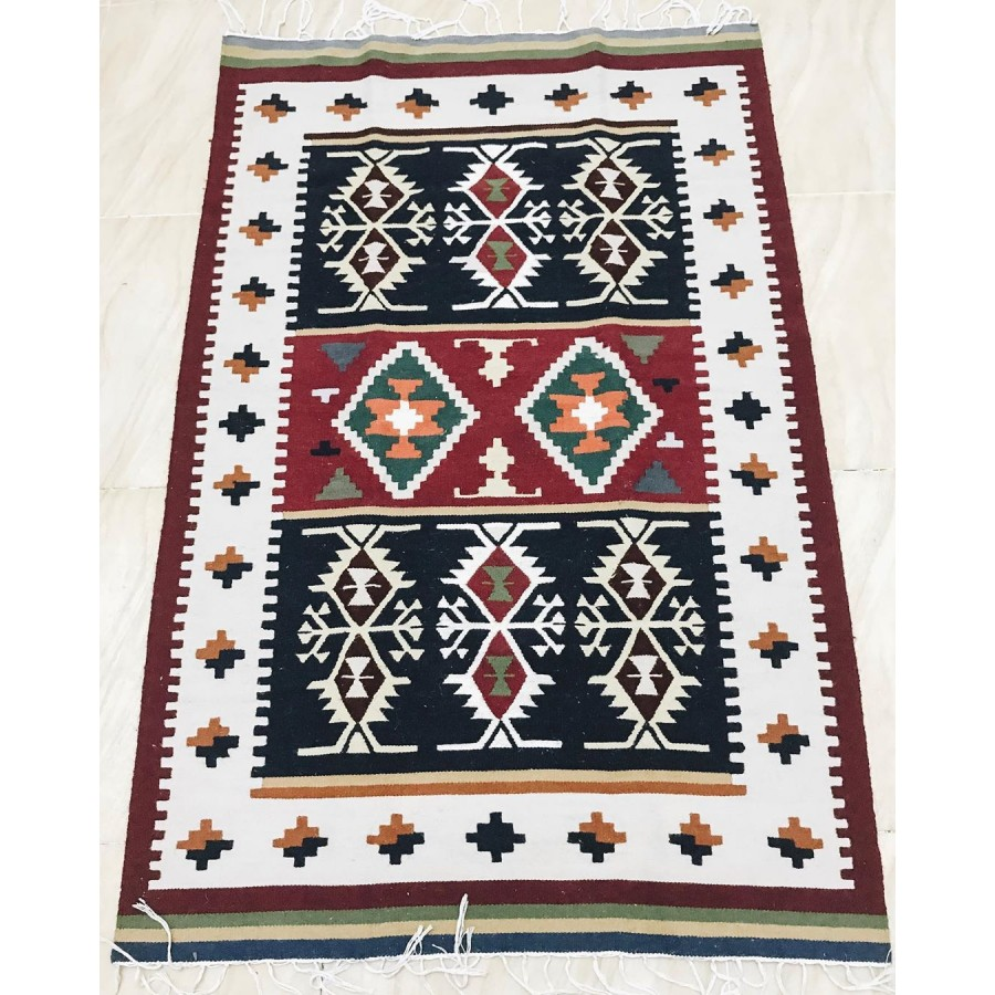 Восточный коврик килим ручной работы