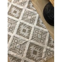 Эко килим из переработанного хлопка