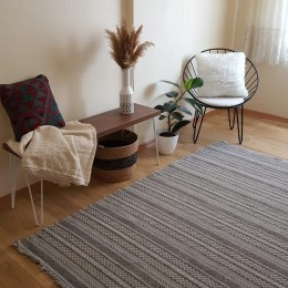 Эко килим из восстановленного хлопка